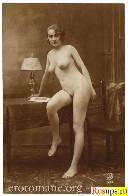 Эротику. бесплатное порно. . Ретро эротика 20х годов - Polissons et.