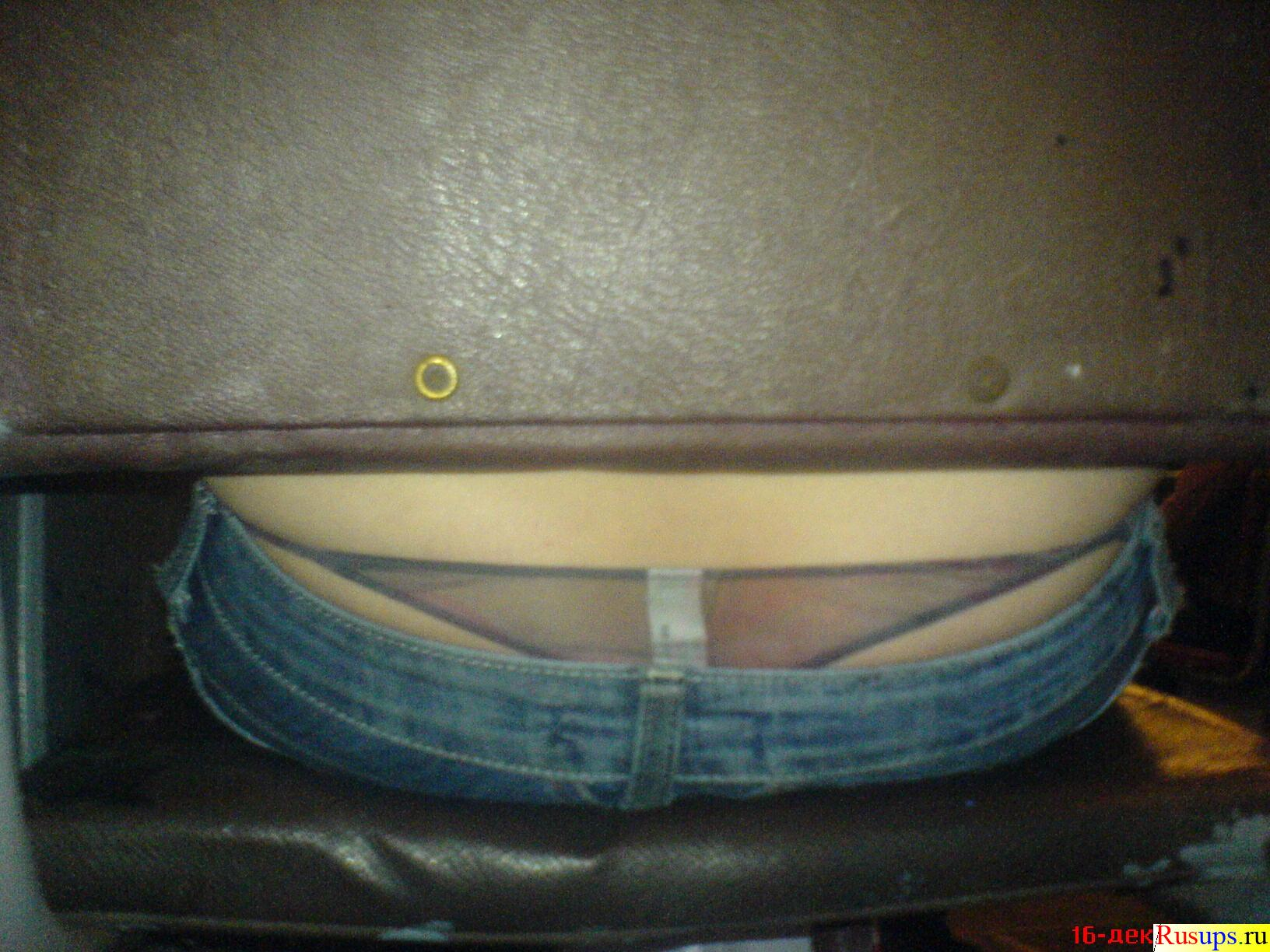 Трусики торчат из джинс 3 фотография