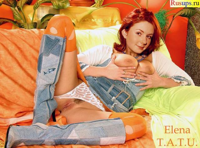 Голые ТаТу - эротические фото группы Тату ( Tatu) .